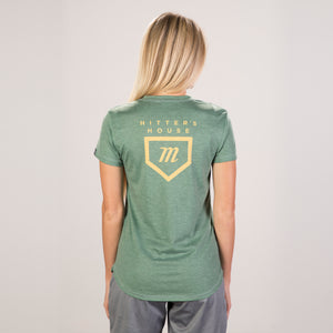 Women's Tour Tee - Green Heather