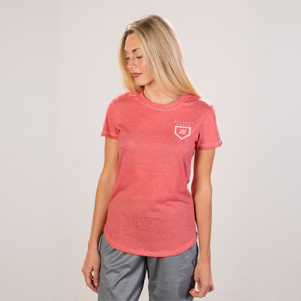 Women's Tour Tee - Red Heather