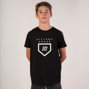 Youth Hitter's Tee - Black