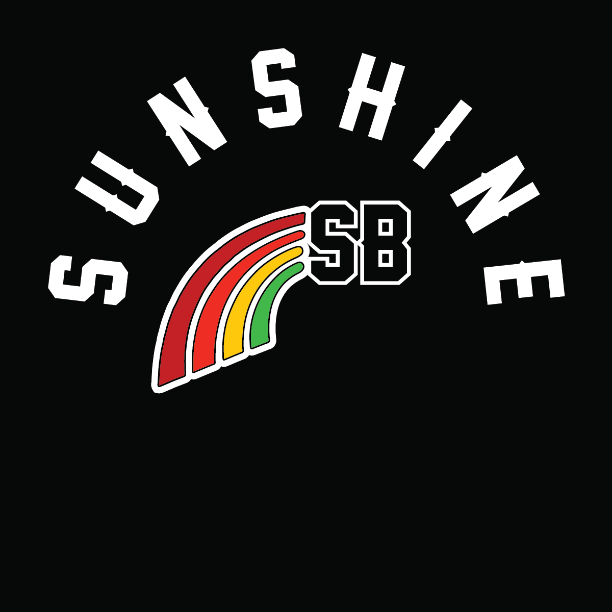 Sunshine Women's 2019 South Bay Rainbow Tee