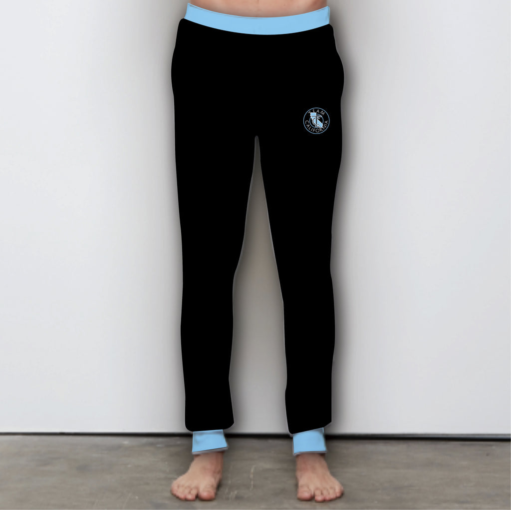 Team California Black Joggers