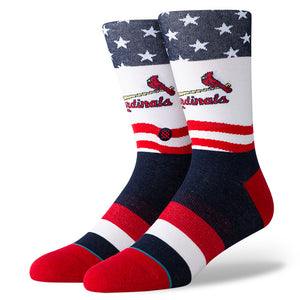 Stance Cardinals Stars and Bars
