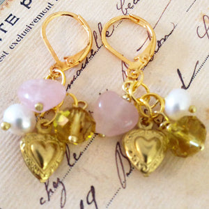 Cherished Trinkets Golden Gaze Earrings