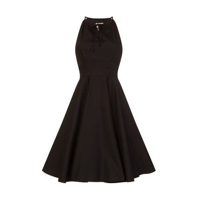 'Julianna' Black Full Circle Dress