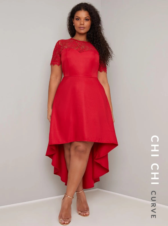 Oti Red Dress