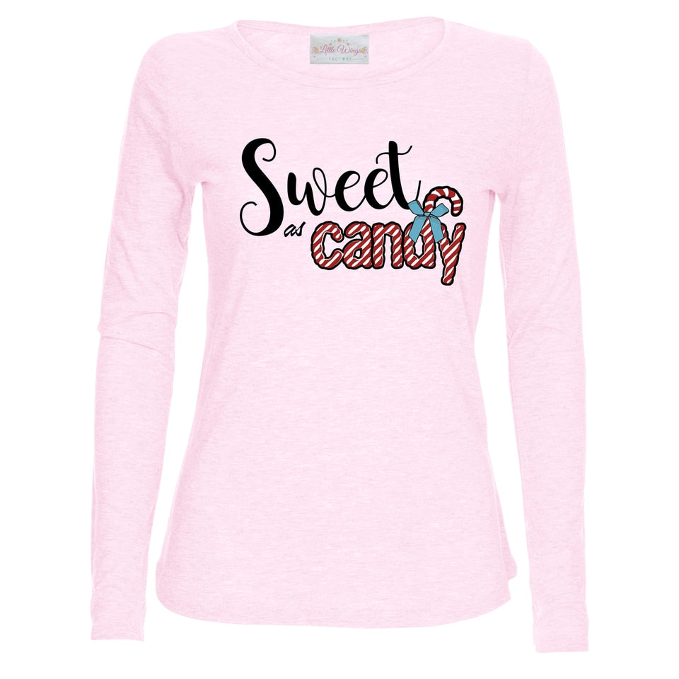 Sweet As Candy Pale Pink Top