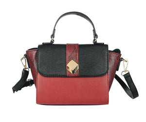 Mini Handbag in Red