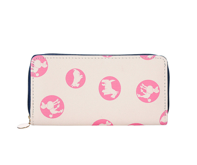 Pink Dog Lovers Print Purse