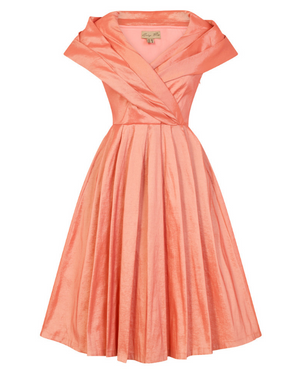 'Amber' Pearl Pink Occasion Dress