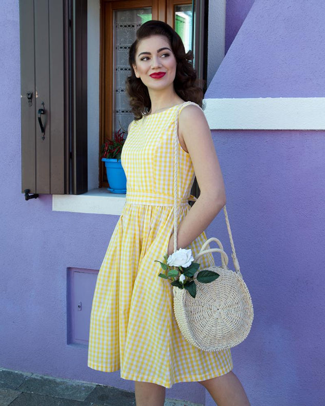 'Audrey' Sunny Gingham
