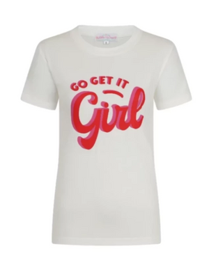 Go Get It Girl Logo Tee