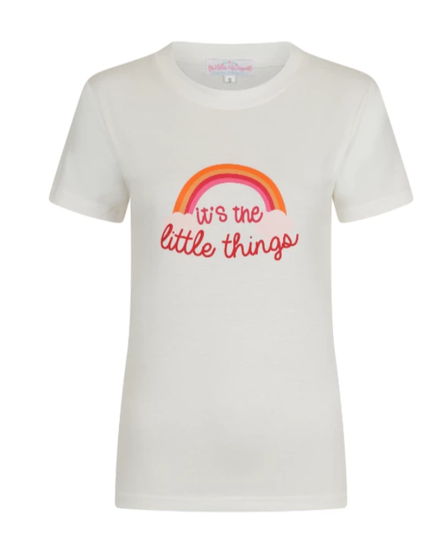 It's The Little Things Logo Tee