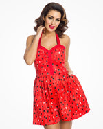 Watermelon Pip Print Playsuit - Lauren