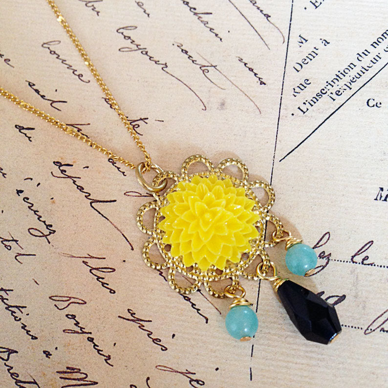 Cherished Trinkets Summer Pop Necklace