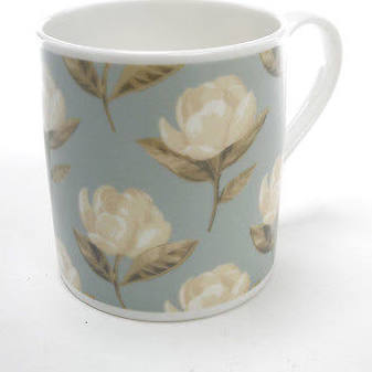 Magnolia Terrace Blue Mug
