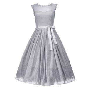 'Aphrodite' Dove Grey Occasion Dress
