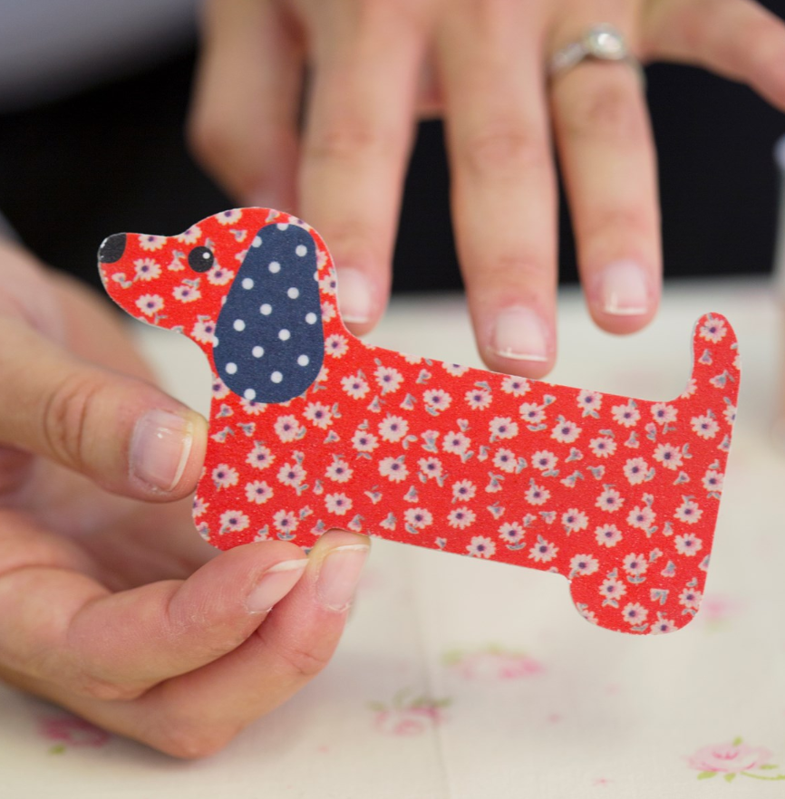 Cute Dachshund Nail File