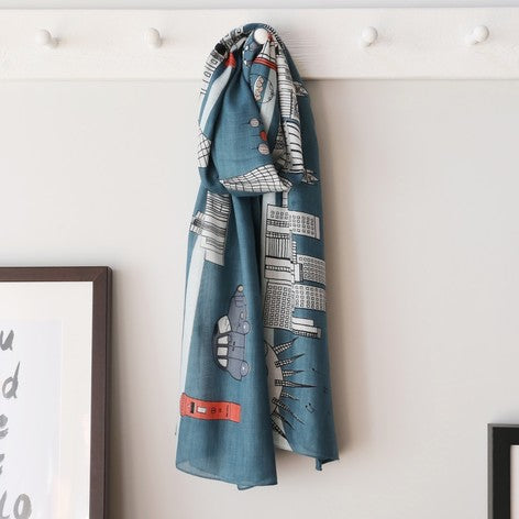 London Skyline Scarf