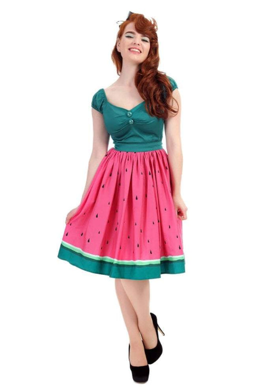 Watermelon Swing Skirt