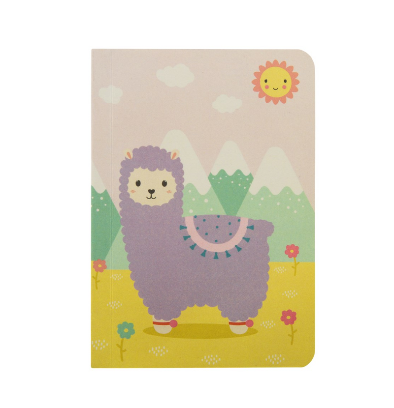 Pretty Llama Pocket Notebook