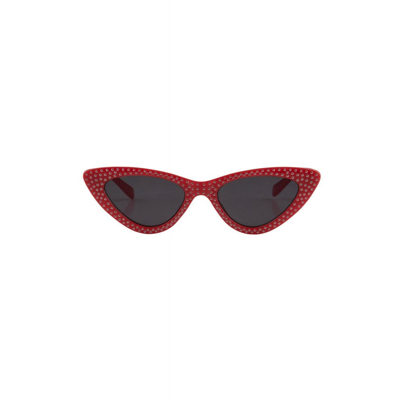 Lucille Red Cateye Sunglasses