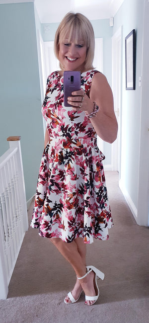 Summer Fusion Tea Dress