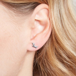 Tiny Dachshund Stud Earrings