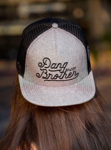 DB Grey/Blk Trucker Hat