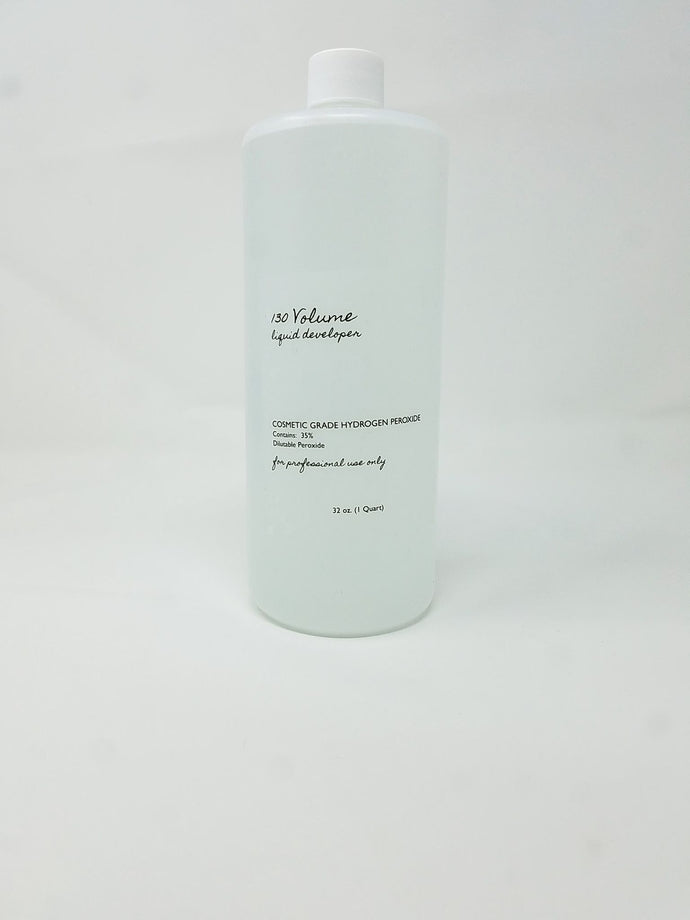 BBS 130 Volume Liquid Developer 35% Cosmetic Grade 32oz