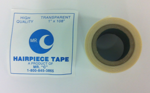 "Clear Hairpiece Tape 1"" x 108"" by Mr. ""C"""