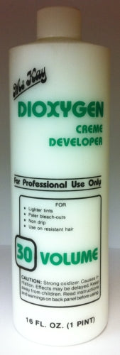 30 Volume Crème Developer – 16oz