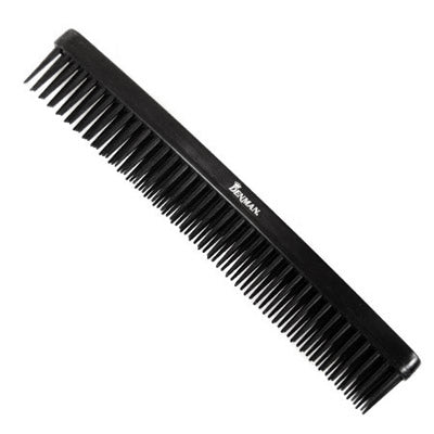 Denman Three Row Comb - Black D12