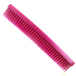 Denman Three Row Comb - Red D12