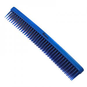 Denman Three Row Comb - Blue D12