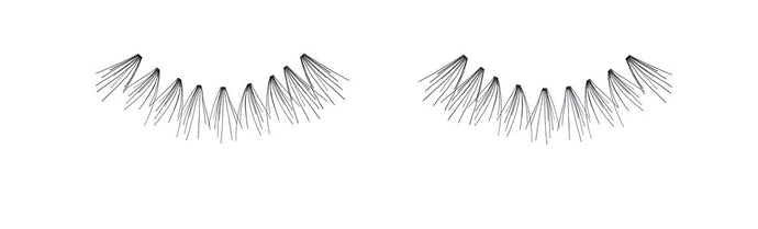 Ardell Knot Free Flare Medium Individual Lashes, Black