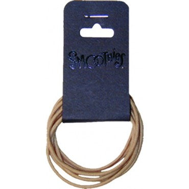 Smoothies Metal Free Pony Tail Holder - 7 Pack Large - Blond