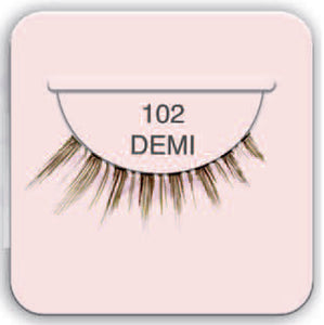 Ardell 102 Demi Black Lashes