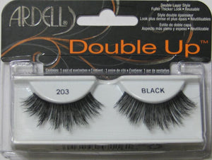 Dozen Ardell Double Up 203 Black Lashes