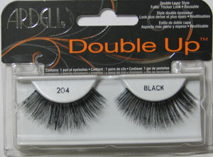 Ardell Double Up 204 Black Lashes package