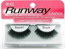 Ardell Runway Naomi Black Lashes (Type 1)