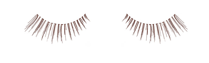 Dozen Ardell 116 Brown Lashes