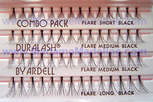 Ardell Flare Combo Pack Black Individual Lashes