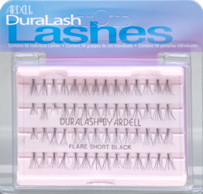 Ardell Flare Short Black Individual Lashes