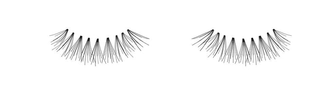 Ardell Knot Free Flare Short Individual Lashes, Black