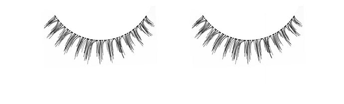 Dozen Ardell Luckies Black Lashes