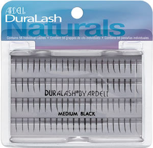 Dozen Ardell Regular Medium Black Individual Lashes