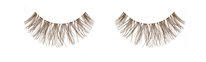 Dozen Ardell Wispies Brown Lashes