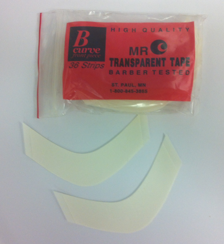 B-Curve Front Piece Transparent Tape by Mr.