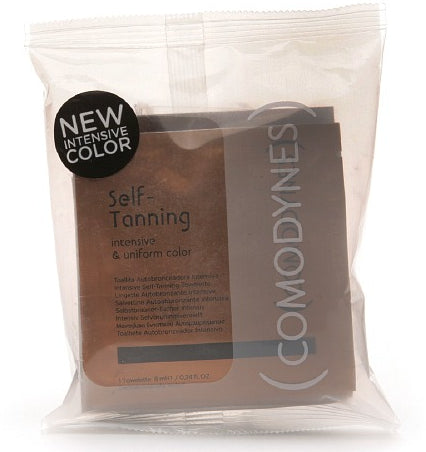 Comodynes Self Tanning Cloths - Package of 8 Cloths - NEW! Intense Color
