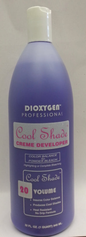 Ms. Kay Dioxygen Cool Shade 20 Volume Crème Developer – 32oz  NO FREE SHIPPING